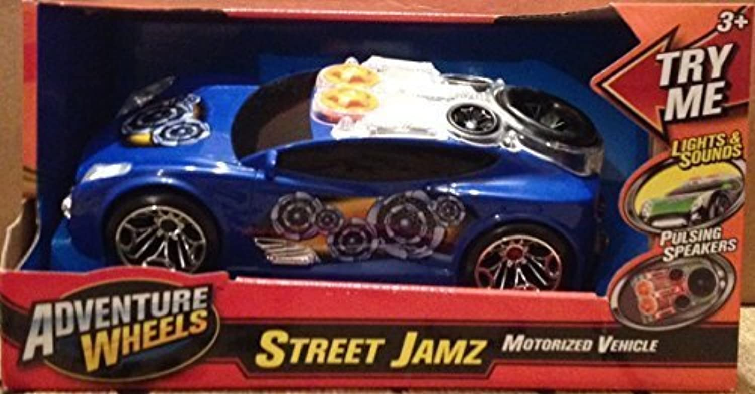 a la venta Adventure Adventure Adventure Wheels Street Jam Light and Sounds- Color and Design Pattern May Vary by Adventure Wheels  productos creativos