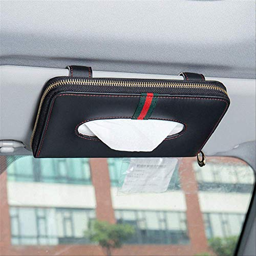 FHFF Auto Zon Visor Tissue Box Papier Servet Houder Interieur Accessoires Handdoek Ophangen China Zonneklep 1