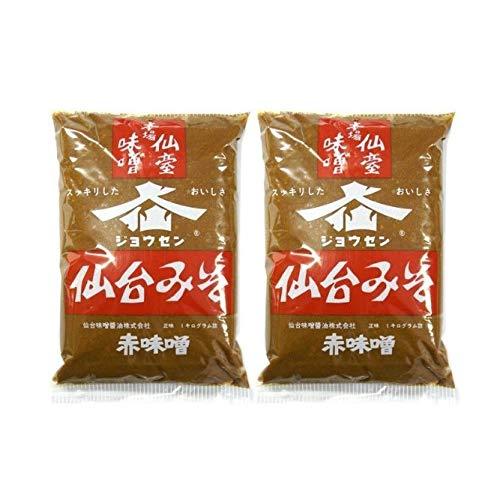 仙台みそ 赤味噌 1kg /仙台味噌醤油(2袋)