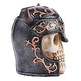 PIXNOR Cráneo Fragancia Humidificador Cráneo Aromaterapia Difusor Ambientador USB Silencioso Humidificador Aroma Vapor Fresco Humidificadores para El Hogar Oficina Dormitorio Regalos