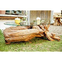 gartentisch wurzelholz