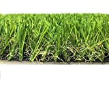 Yelloo Kunstrasen Kunstrasen Kunstrasen Rasen Garten Teppich 30 mm 40 mm Top Qualität 40 mm 1x10m