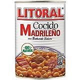 LITORAL Cocido Madrileño - Plato Preparado de Cocido Madrileño Sin Gluten - 440g