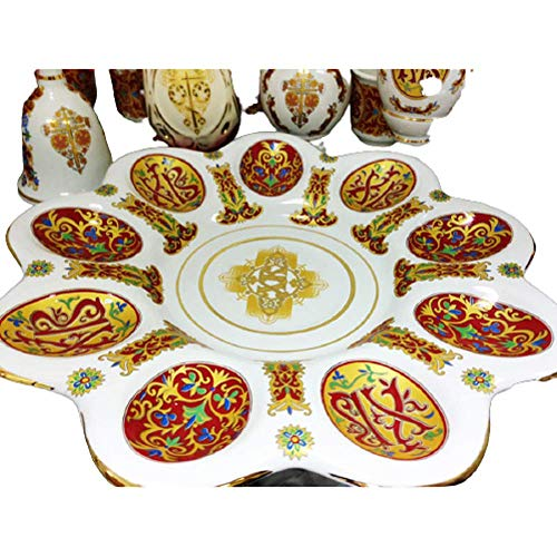 Hail Mary SK-15 Egg Plate Pascha Collection