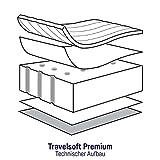 Julius Zöllner Reisebettmatratze Travelsoft Premium, Schadstoffgeprüft nach Standard 100 by OEKO-TEX, 60 x120 cm - 4