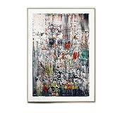 WJWGP Gerhard Richter Graffiti Artwork Poster Rot GrüN
