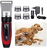 Sebasty Tondeuses électriques Toilettage de chiens Clippers, toilettage for chiens sans fil...