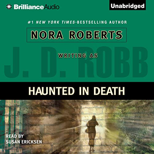 Haunted in Death audiobook cover art