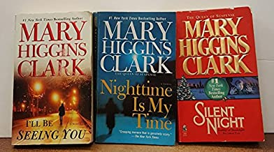 Mary Higgins Clark: 3 Book Set: Softcover Silent Night: I'LL Be Seeing You: Nighttime Is My Time: Very Good