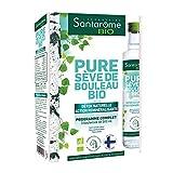 Santarome Bio Pure Sève de Bouleau Bio | Complément Alimentaire Détox Naturelle | Coffret de 3 x 500 ml