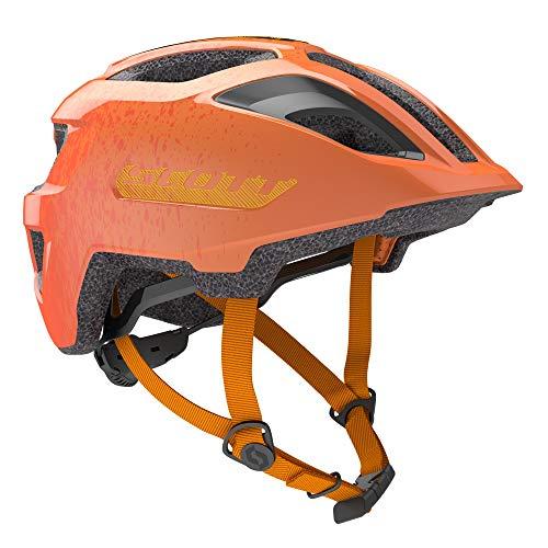 SCOTT 275232 Fahrradhelm, Unisex, für Kinder, Fire Orange, 1 Größe