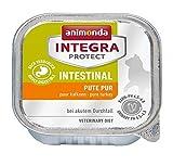 animonda Integra Protect Intestinal para gatos, comida dietética para gatos, comida húmeda para casos de diarrea o vómitos, puro pavo, 16 x 100 g