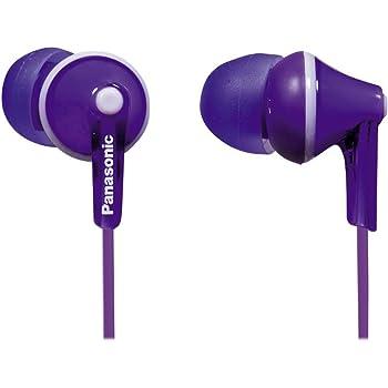 Panasonic RP-HJE125-V Headphones, Purple