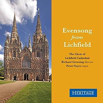 Evensong from Lichfield