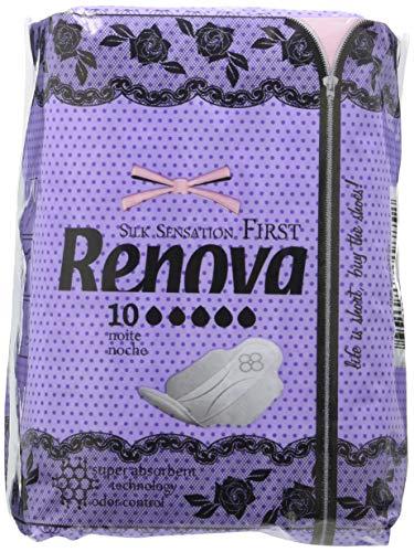Renova First Compresas Noche - 10 Compresas