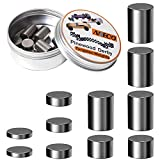 Aneco 3 Ounce Pinewood Derby Weights Tungsten Weights Pinewood Derby Car Weights Cylinders Weights in Assorted Sizes to Make The Derby Car