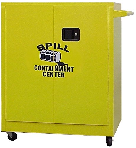 SECURALL SCC242 Spill Free shipping Overseas parallel import regular item anywhere in the nation Containment Cabinets - 2 High Adj Counter