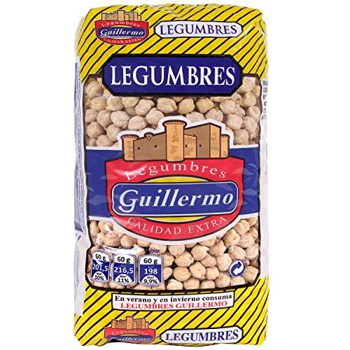 Guillermo Garbanzos Gordos Legumbres Calidad Extra 1000 g