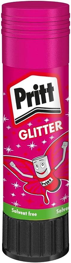 Pritt B/âtons de Colle color/ée 2 X 20g Couleur al/éatoire