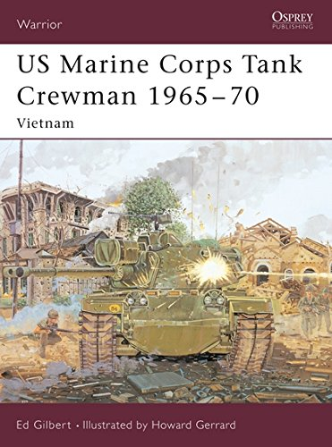 US Marine Corps Tank Crewman 1965-70: Vietnam (Warrior, Band 90)