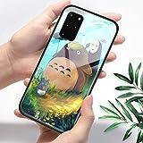 FUTURECASE Anime My Neighbor Totoro - Carcasa de vidrio templado para Samsung Galaxy S8 S9 S10 S20 S21 Plus Ultra FE S10e Manga Cartoon Phone Cover (7, Samsung S20 FE/S20 FE 5G)