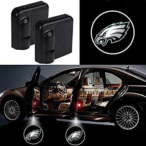 For Philadelphia Eagles Car Door Led Welcome Laser Projector Car Door Courtesy Light Suitable Fit for all brands of cars