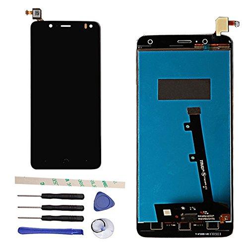 General Pantalla LCD Compatible con BQ Aquaris V/BQ Aquaris U2 / U2 Lite 5.2' Pantalla LCD digitalizador de Pantalla táctil (Negro)