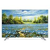 TINGTING Tv Abdeckung LCD-TV-Staubschutzhülle TV Computerdekoration Abdecken Rutschfestes Tuch Monitorabdeckungen (Color : Victoria, Size : 40inch)
