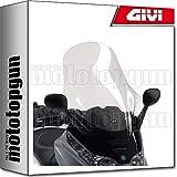 givi cupula d500st compatible con piaggio x8 150-200-250-400 2004 04 2005 05 2006 06 2007 07
