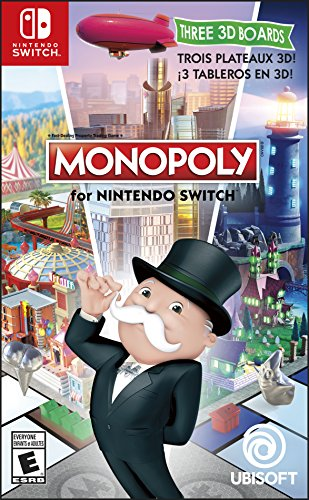 NSW MONOPOLY FOR NINTENDO SWITCH (US)