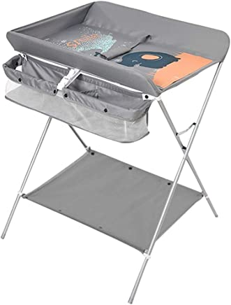 JINYANG Baby Diaper Table Baby Care Table Newborn Massage Bathing Table Multifunctional Folding Touch Table