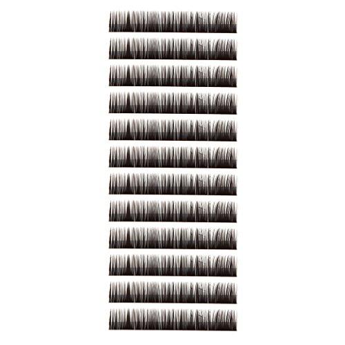 0.10 B-curl Multi Tailles Faux Cils Extensions de Cils - 8mm / 10mm / 12mm / 14mm