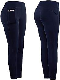 Leggings de Sport SANFASHION Femme Pantalon Yoga F