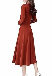[ミート] ワンピース フォーマル ドレス レディース 無地 薄手 きれいめ A ラインで エレガント 冷房 日焼け 対策 に