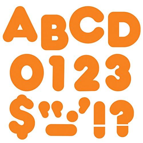 "TREND enterprises, Inc. Orange 2"" Casual Uppercase Ready Letters"