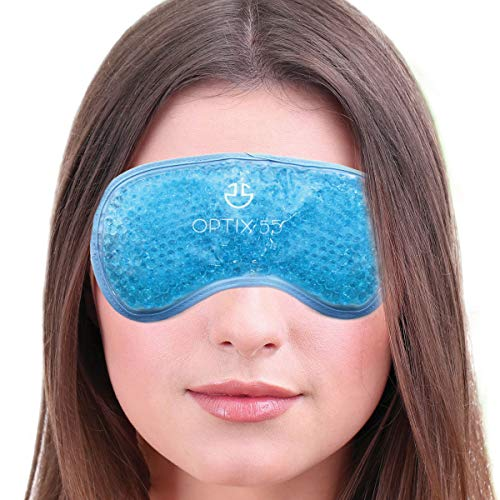 ERGO BEAD TECHNOLOGY: With flexible gel pearls, this eye mask contours to the shape of your eyes for a customized fit like a memory foam pillow! It also retains temperature for therapeutic treatment. HOT OR COLD RELIEF: Create a cool compress to reli...