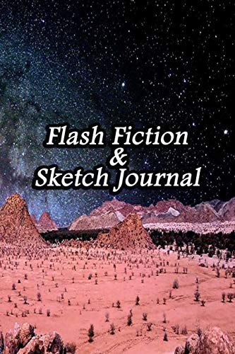 Flash Fiction & Sketch Journal: Write & Create Story Workbook with Flash Fiction and Sketch Page Book For Creative Writing and Drawing for Writers | Africa Sky Cover