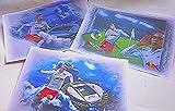 3 echt geniale Kunstdrucke mit verschiedenen RB