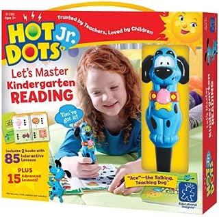 Hot Dots Jr. Let's Master Kindergarten Reading