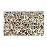 ZhenFa Suelo de PVC simulación Piedra Antideslizante Impermeable Auto Adhesivo Suelo Pegatinas Cocina baño Aseo decoración WALLPAP ER