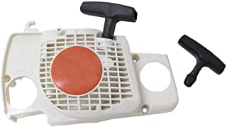Poweka Recoil Pull Starter, Start Handle Fit for Stihl Ms170 Ms180 Ms180c 017 018 Chainsaw Replace 1130 080 2100