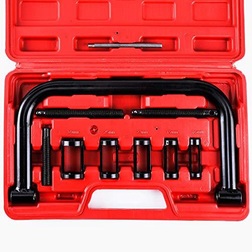 Orion Motor Tech Ventilfederspanner 10- Teilig Solid Valve Spring Compressor Ventilfederspanner-Satz 16-30 mm