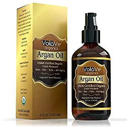 voilave virgin organic argan oil for hair