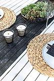 100% Mosel Vlies Tischläufer, in Schwarz (30 cm x 25 m), dekoratives Tischband aus Stoff, edle Tischdeko für Geburtstage & Hochzeiten, bunte Dekoration zu besonderen Anlässen - 6
