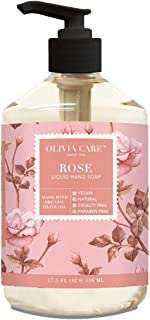 Sponsored Ad - Liquid Hand Soap By Olivia Care. Rose & Essential Oils. All Natural - Cleansing, Germ-Fighting, Moisturizin...