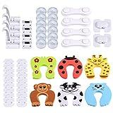 Baby Sicherheits Set, 50 Teile Set für Kindersicherung, 18 x Steckdosenschutz,...