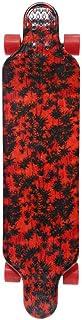 TA by Dorsa Sports Printed Skateboard, Red, 40010065