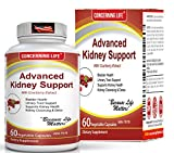Kidney Cleanse UTI Support Supplement - Kidney Support Formula Detox - Cranberry Extract, Stinging Nettle Root Helps Healthy Kidneys Bladder Health - Cranberry Supplement Urinary Tract Infection