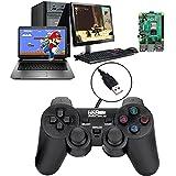 Controller di Gioco Cablato USB per Windows PC/Raspberry Pi Gamepad Remoto Plug and Play Joypad Joystick di Gioco Dual Shock per Roblox/Steam/RetroPie/RecalBox