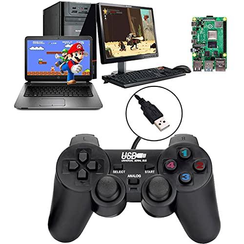 Controlador de Juego con Cable USB para Windows PC/Raspberry Pi Mando de...